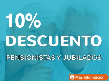 Descuentos para pensionistas y jubilados